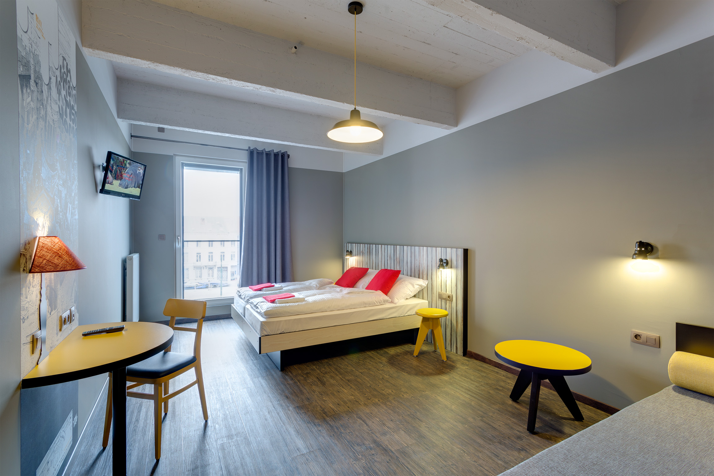 Meininger hotel brussels city center online booking for Top design hotels belgium