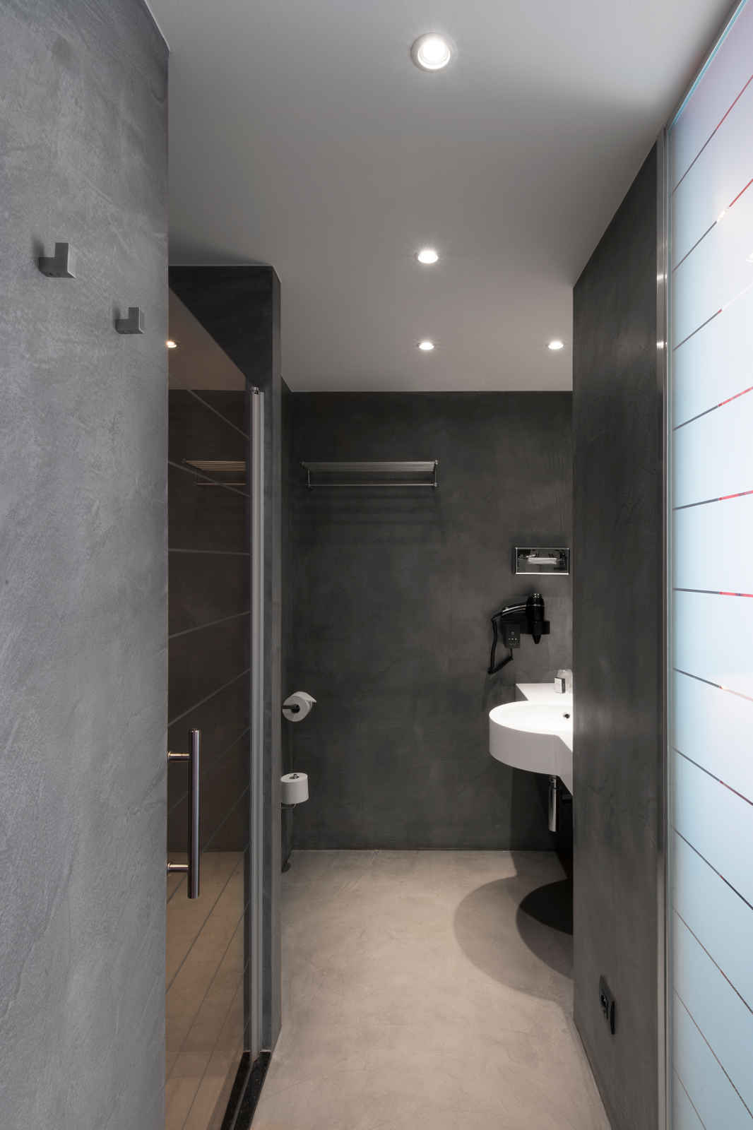 mortex bathrooms on pinterest texture painting showers and bathroom. Black Bedroom Furniture Sets. Home Design Ideas
