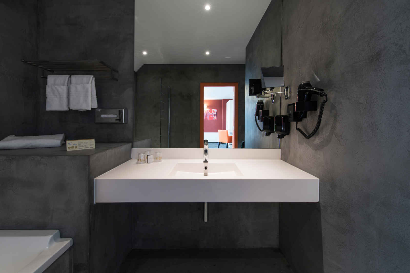 Mortex Bathrooms On Pinterest Texture Painting Showers
