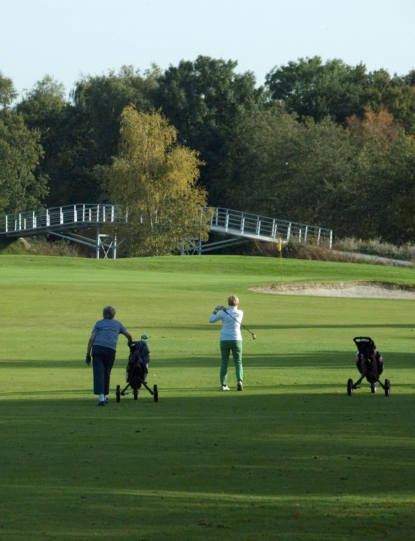 Golf arrangement
